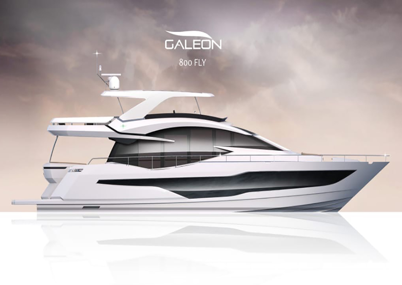 Galeon 800 FLY External image 2